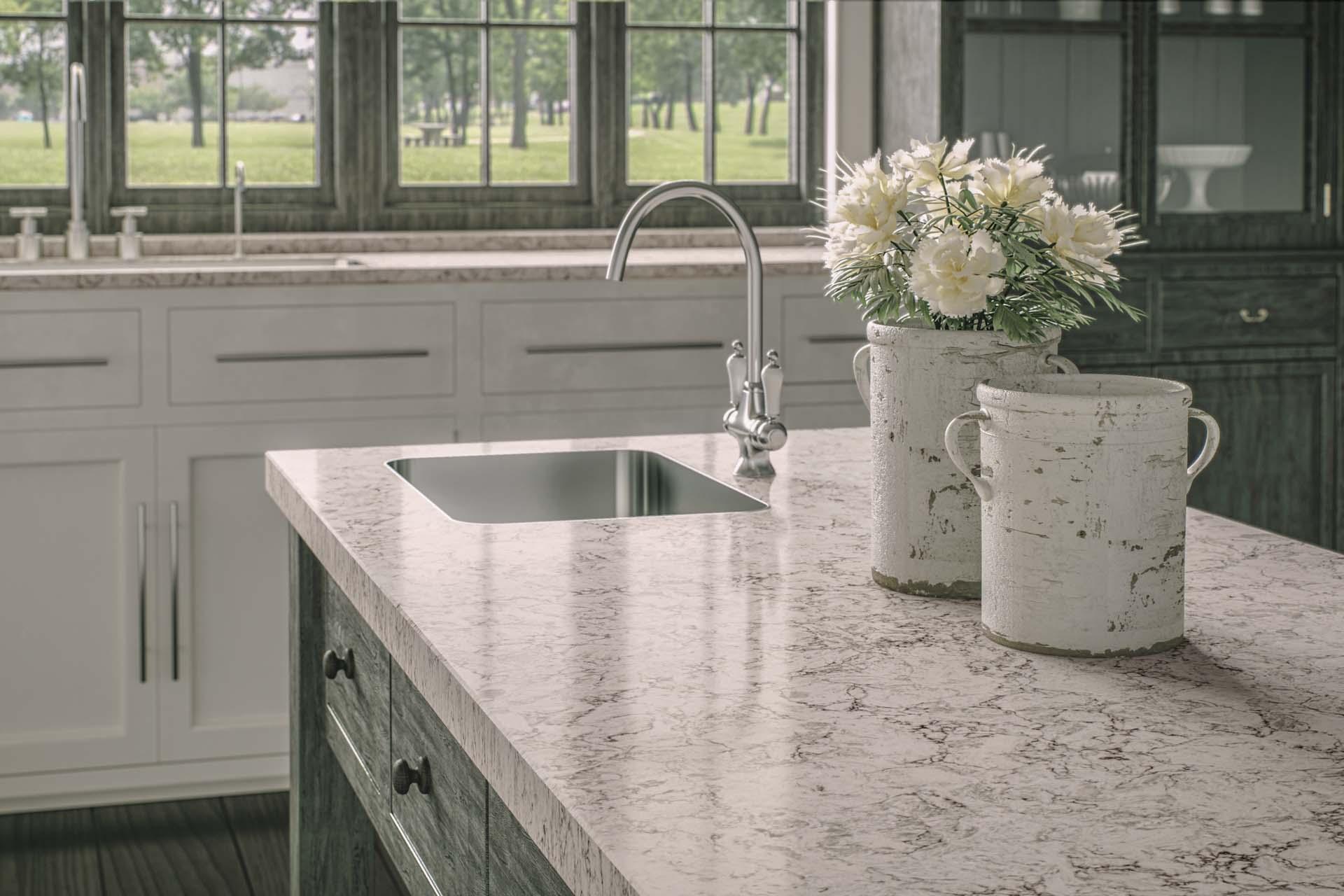 Falcon White Granite